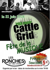 21 juin cattle grid