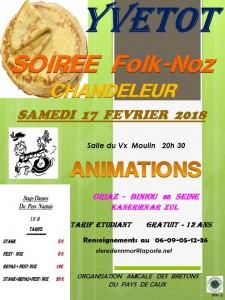 Affichage Chandeleur