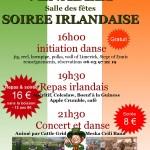 Soirée irlandaise à Venables 5 octobre 2019