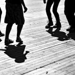 gourin-photo-n-b-bretagne-musique-danse-traditionnelle-bretonne-gavotte-aven-quadrille-pas-plancher